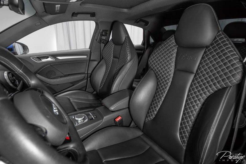 2016 Audi S3 Premium Plus Interior Cabin Front Seats