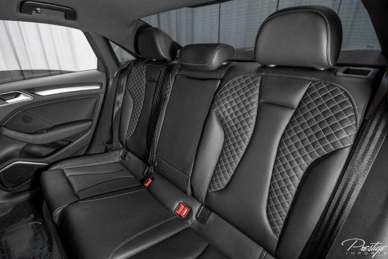 2016 Audi S3 Premium Plus Interior Cabin Rear Seats