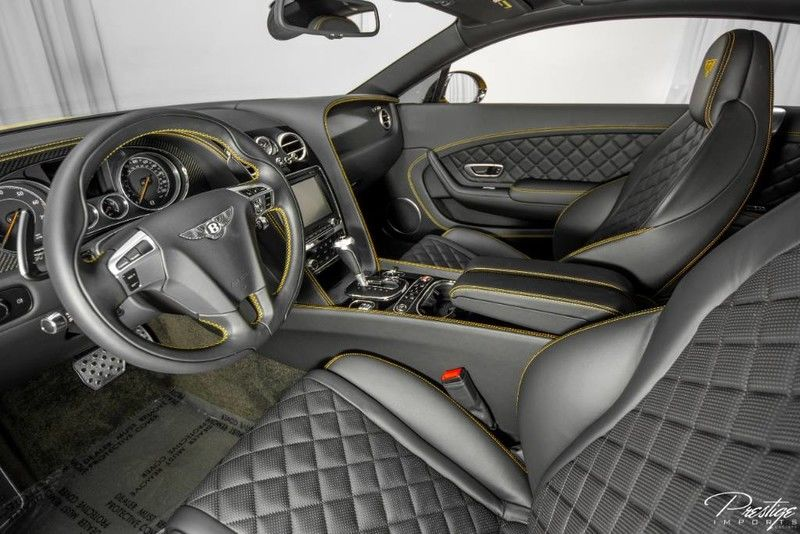 2016 Bentley Continental GT V8 S Interior Cabin Dashboard