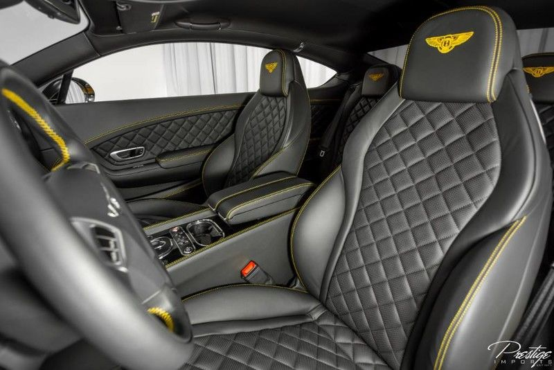 2016 Bentley Continental GT V8 S Interior Cabin Front Seating