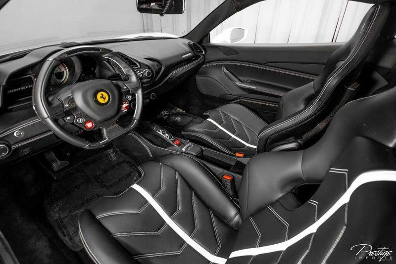 2017 Ferrari 488 GTB Interior Cabin Dashboard