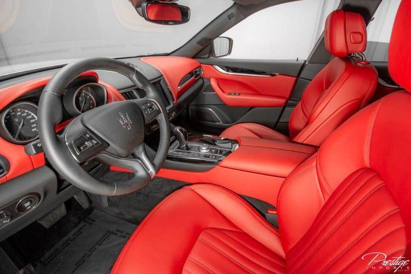 2018 Maserati Levante Interior Cabin Dashboard