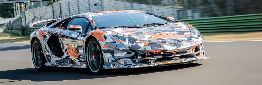 Watch 2019 Lamborghini Aventador Svj Break Nurburgring