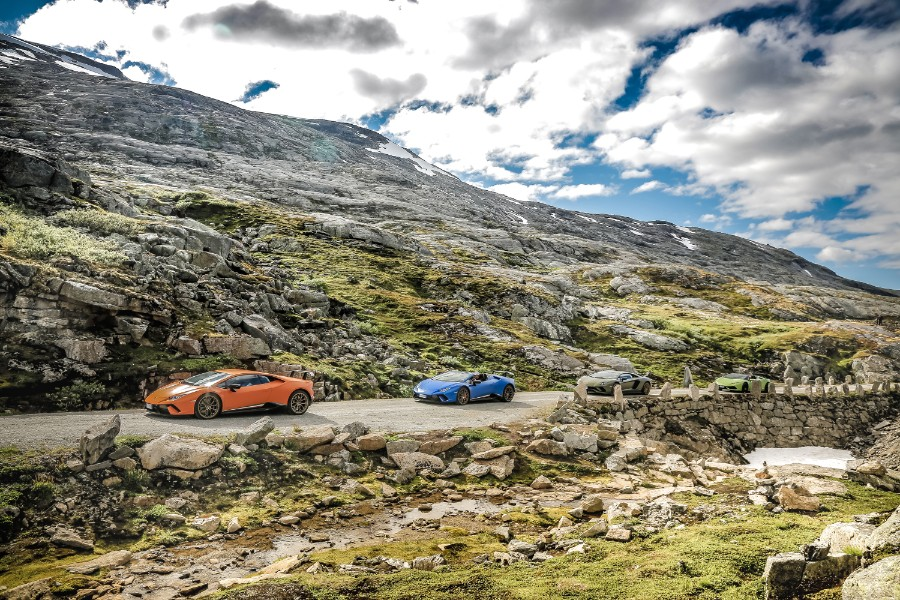 Lamborghini-Models-at-the-Avventura-2018-in-Norway-2