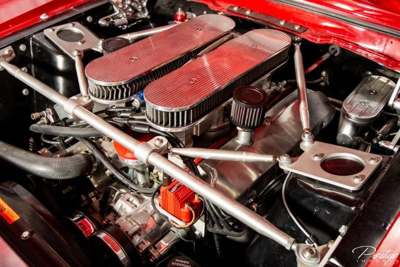 1967 Ford Mustang Interior Engine Bay