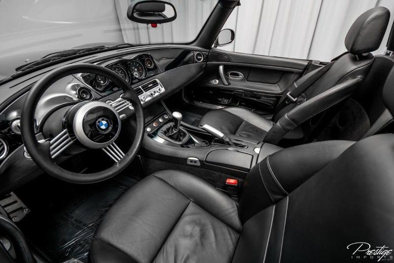 2000 BMW Z8 Hardtop Interior Cabin Dashboard