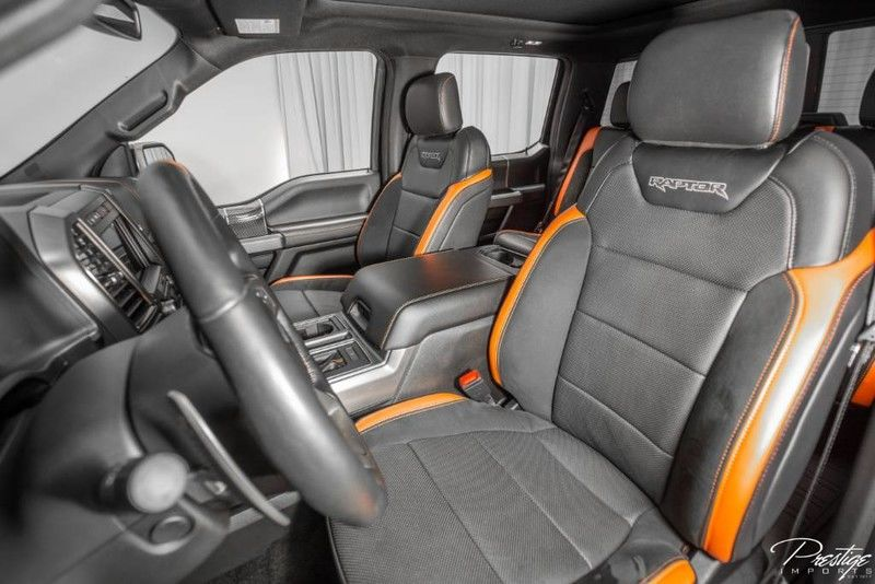2018 Ford F-150 Raptor Interior Cabin Front Seats