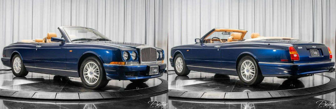 2000 Bentley Azure Convertible For Sale North Miami Beach FL
