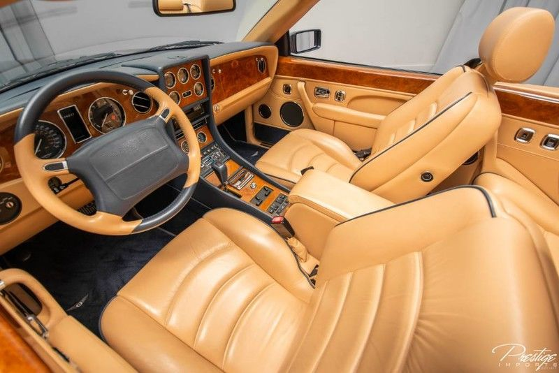 2000 Bentley Azure Convertible Interior Cabin Dashboard