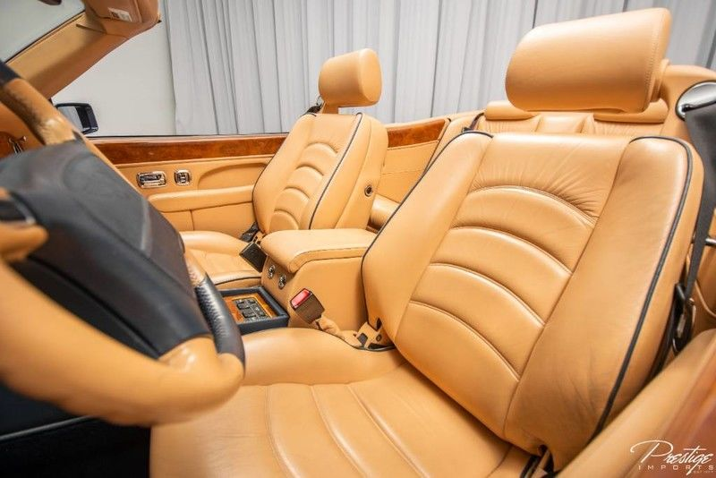 2000 Bentley Azure Convertible Interior Cabin Front Seating