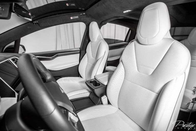 2016 Tesla Model X P90D Interior Cabin Front Seating