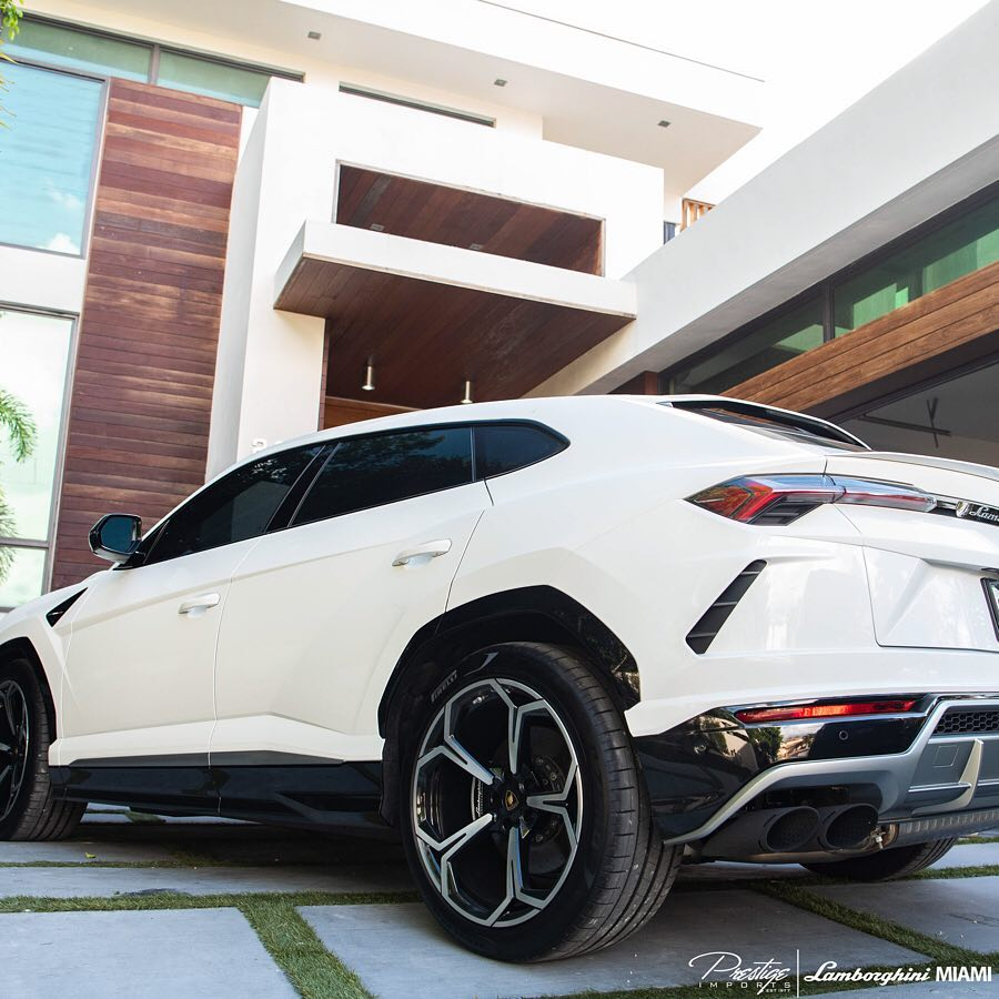 2019 Lamborghini Urus Delivery Photo Gallery