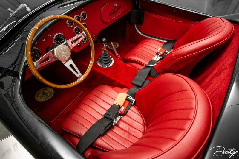 1962 Shelby Cobra 50th Anniversary Interior Cabin Dashboard