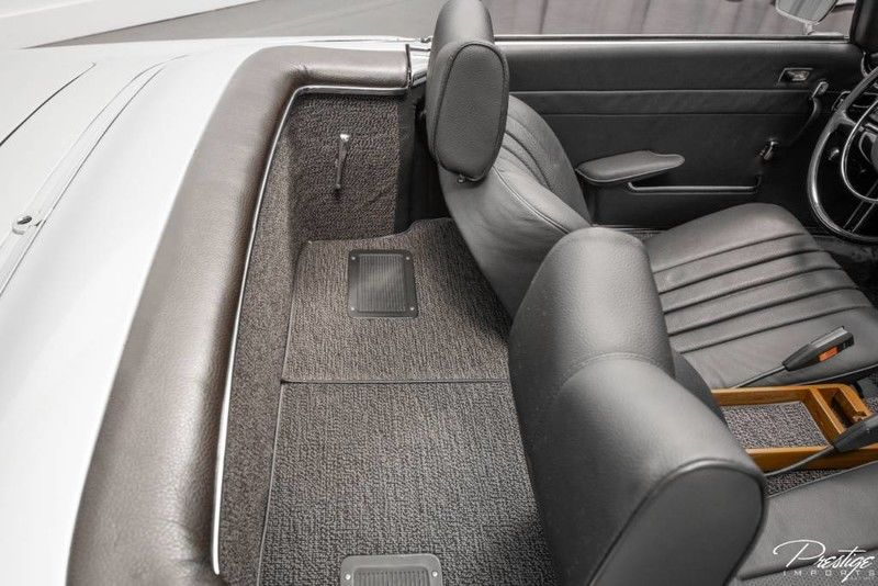 1968 Mercedes-Benz 280SL Convertible Interior Cabin Rear