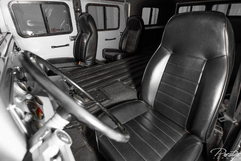 1994 AM General Hummer H1 Interior Cabin Front Seating
