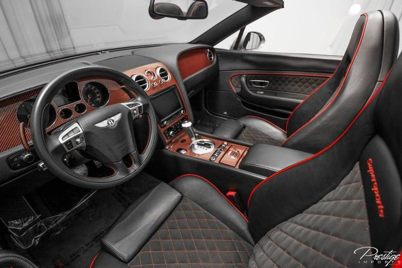 2013 Bentley Continental Supersports ISR Interior Cabin Dashboard