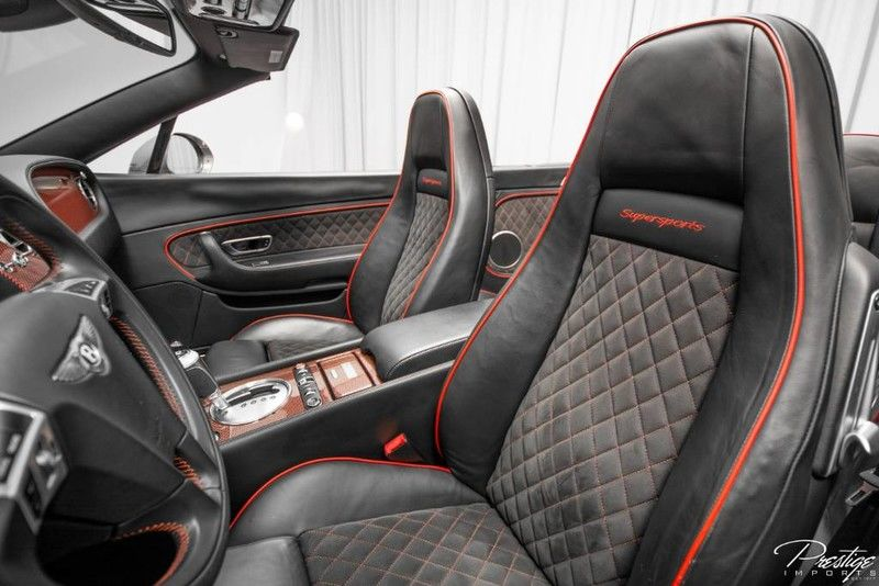 2013 Bentley Continental Supersports ISR Interior Cabin Front Seating