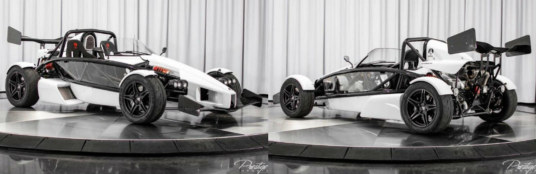 2018 Ariel Atom 3S Exterior Passenger Side Front Driver Side Rear Angles
