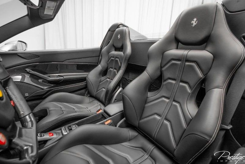 2018 Ferrari 488 Spider Interior Cabin Seating