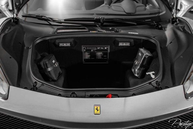 2018 Ferrari 488 Spider Interior Trunk Space