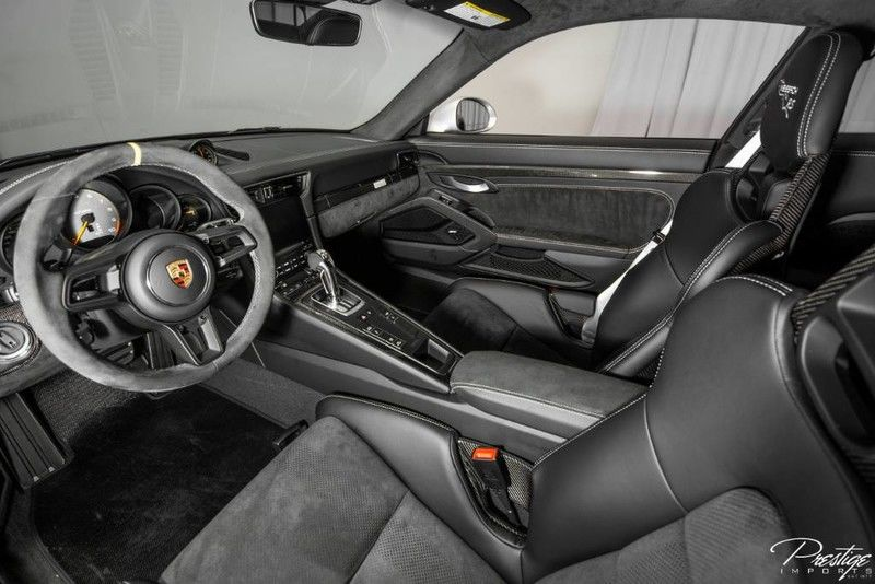 2019 Porsche GT3 RS Weissach Package Interior Cabin Dashboard