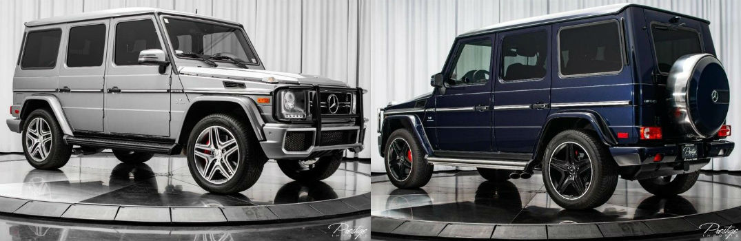 Interested in a pre-owned Mercedes-Benz G-Class near Miami FL?