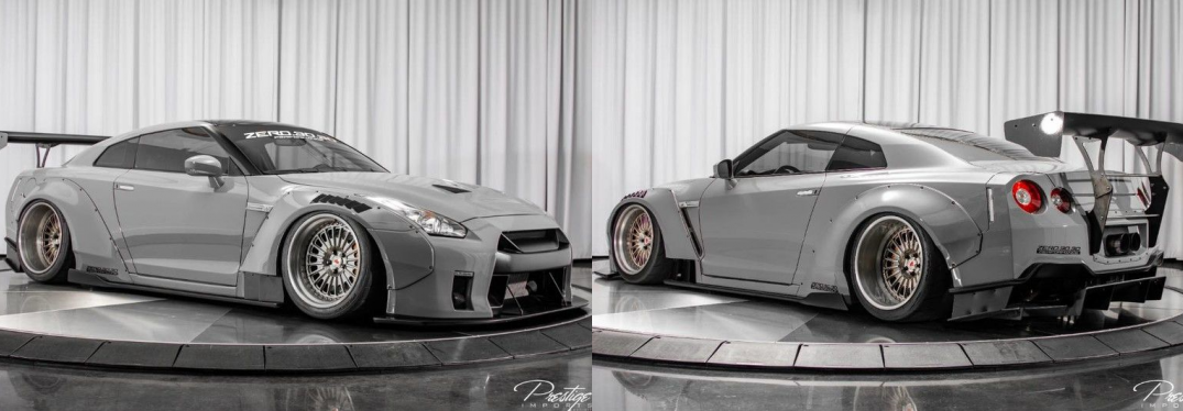 2014 Nissan GT-R Black Edition Liberty Walk Zero.30.30 Performance For Sale North Miami Beach FL