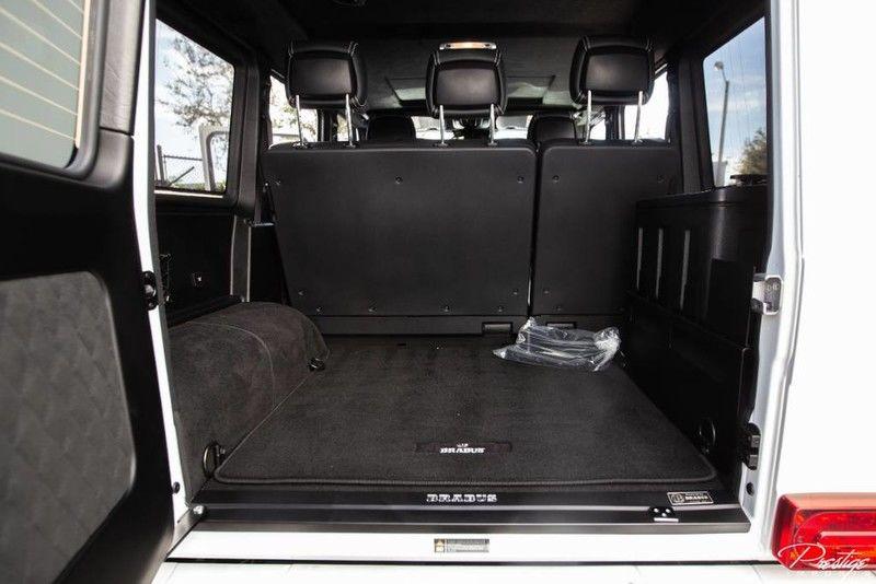 2018 Mercedes-Benz G550 4x4 Squared Brabus Adventure Interior Cabin Cargo Area