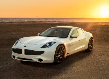 2019 Karma Revero Aliso Edition Exterior Driver Side Front Angle