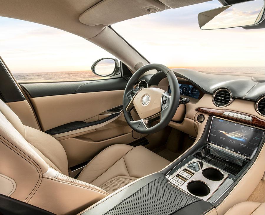 2019 Karma Revero Aliso Edition Interior Cabin Dashboard Drivers Seat