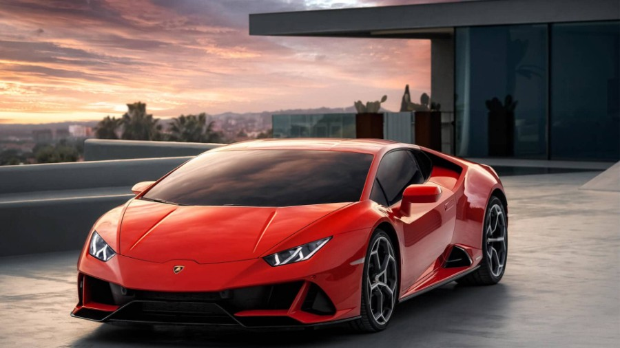 2020-Lamborghini-Huracan-EVO-Exterior-Driver-Side-Front-Angle-Close-Up