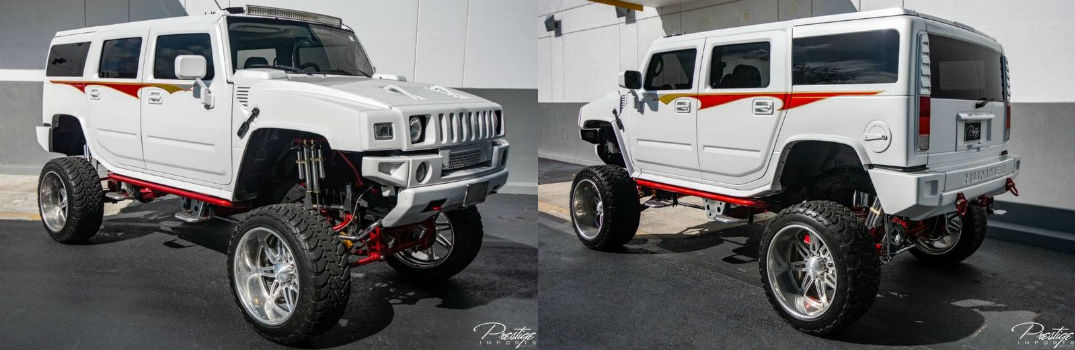 Custom 2003 Hummer H2 For Sale North Miami Beach FL