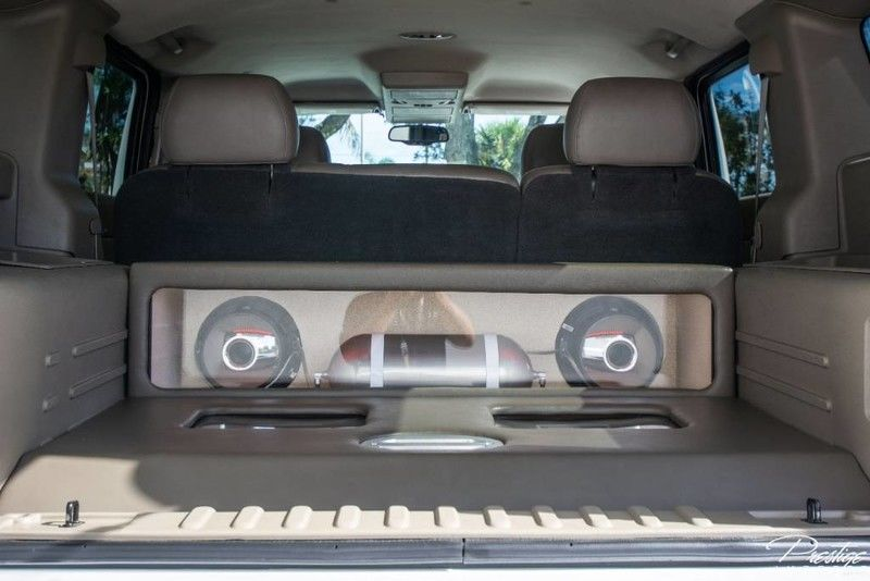 Custom 2003 HUMMER H2 Interior Cabin Cargo Area with Sound System