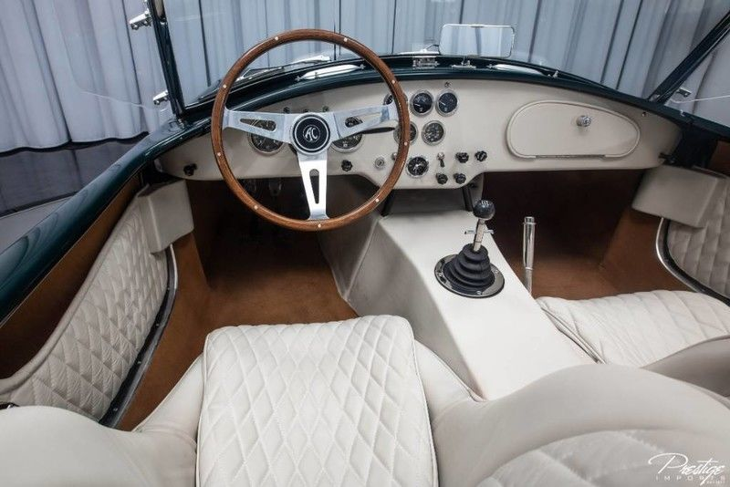 1963 Shelby Cobra Interior Cabin Dashboard