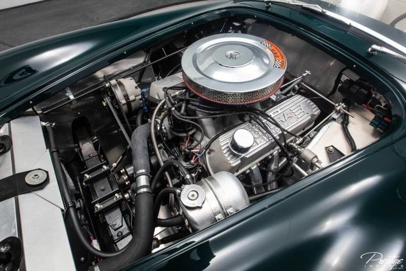 1963 Shelby Cobra Interior Engine Bay