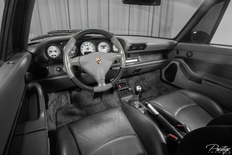 1996 Porsche 911 Carrera Turbo Interior Cabin Dashboard
