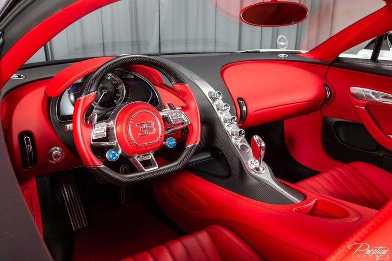 2019 Bugatti Chiron Interior Cabin Dashboard