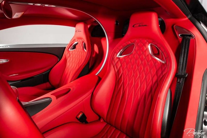 2019 Bugatti Chiron Interior Cabin Seating