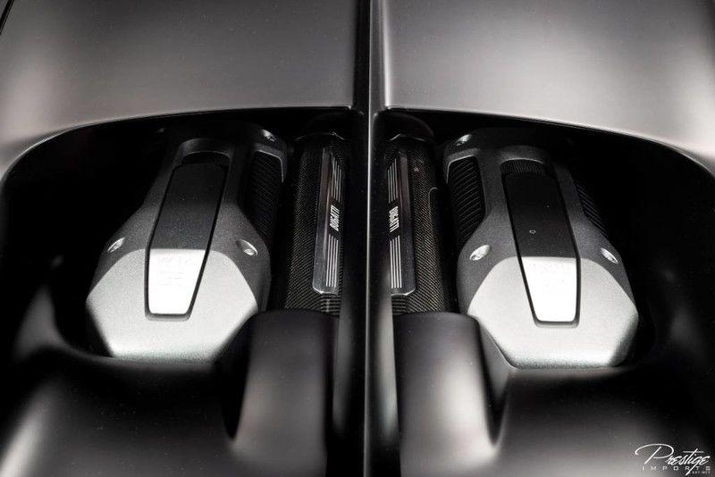 2019 Bugatti Chiron Interior Engine Bay