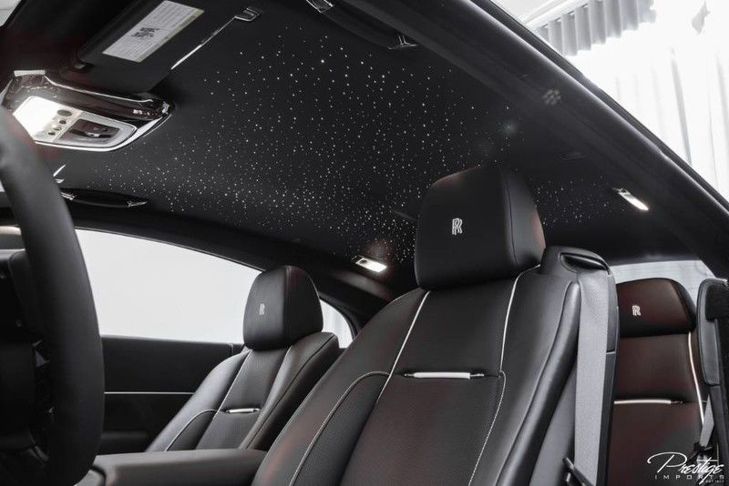 2018 Rolls-Royce Wraith Interior Cabin Front Seating Ceiling