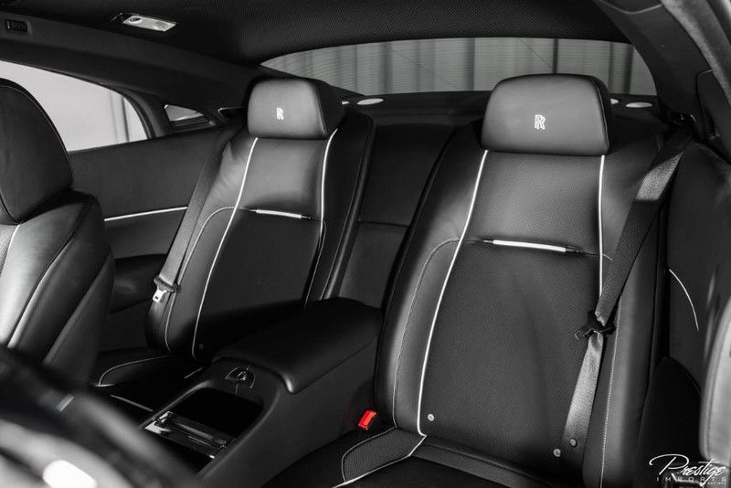 2018 Rolls-Royce Wraith Interior Cabin Rear Seating