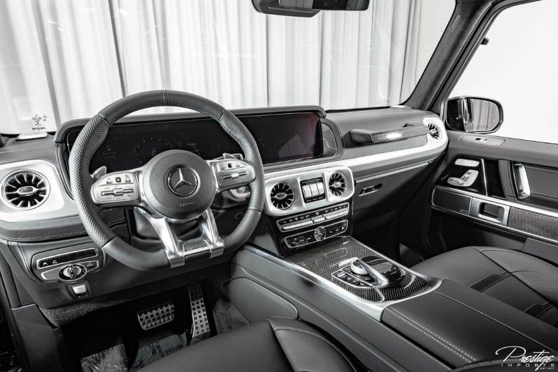2019 Mercedes-Benz G-Class AMG G63 Interior Cabin Dashboard