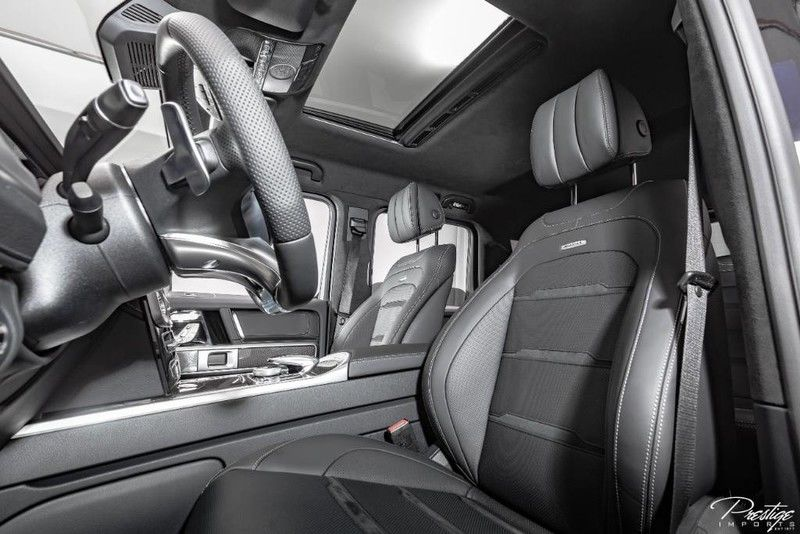 2019 Mercedes-Benz G-Class AMG G63 Interior Cabin Front Seating