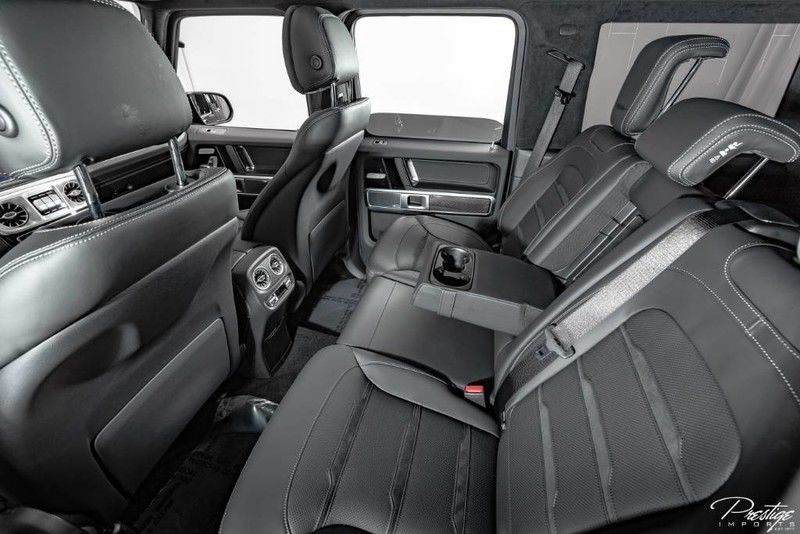 2019 Mercedes-Benz G-Class AMG G63 Interior Cabin Rear Seating