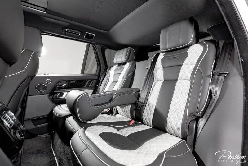 2019 Land Rover Range Rover Overfinch Interior Cabin Rear Seating