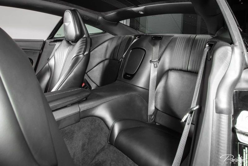 2017 Aston Martin DB11 Launch Edition Interior Cabin Rear Seating