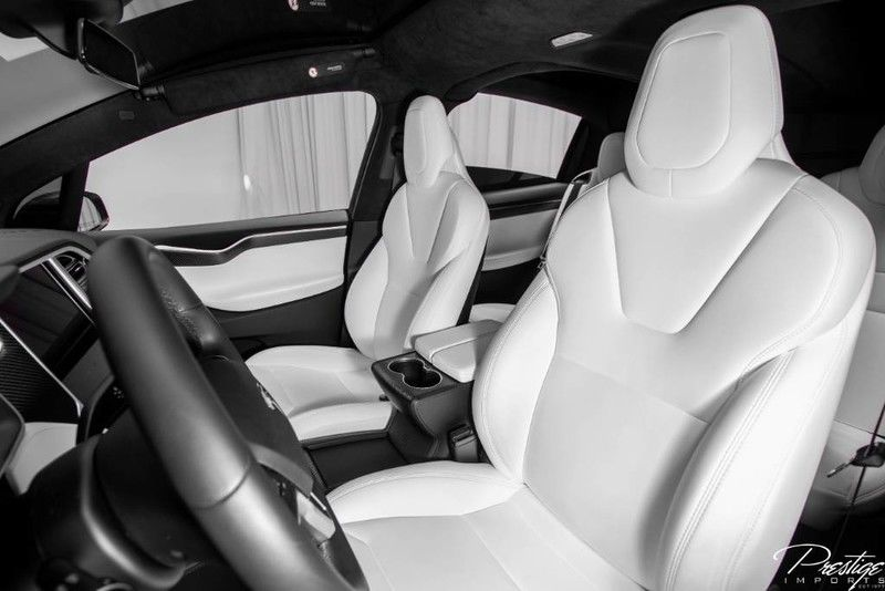 2017 Tesla Model X 75D Interior Cabin Front Seating
