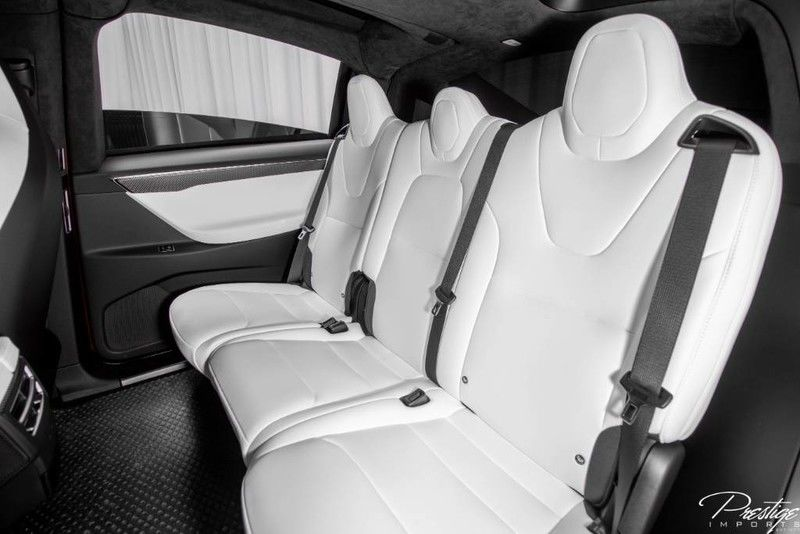 2017 Tesla Model X 75D Interior Cabin Rear Seating