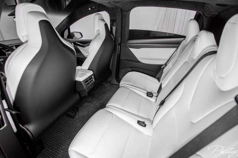 2017 Tesla Model X 75D Interior Cabin Seating