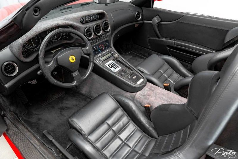 2001 Ferrari 550 Barchetta Interior Cabin Dashboard